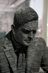 Sculpture made out of slate