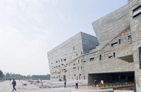 Recycled museum in China