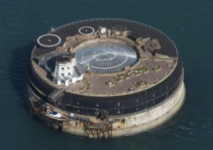 Ariel view of Solent Fort
