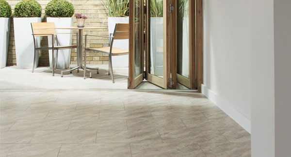 Picture of stone floor in house