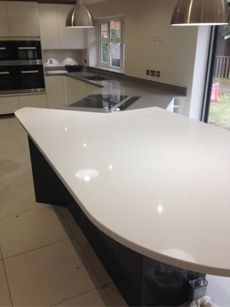 Samsung Worktop - kitchen installations