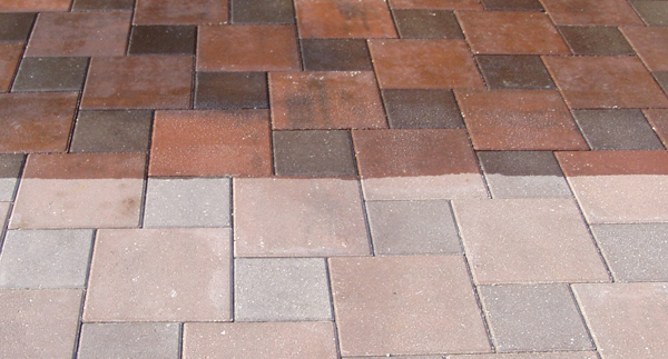 Cleaning patios, stone tiles and other outdoor stone - Surrey ...