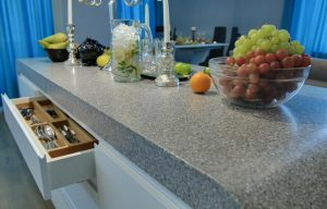 Grey Quartz Worktops