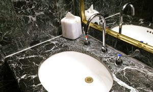 Surrey Marble and Granite Black Quartz Sink